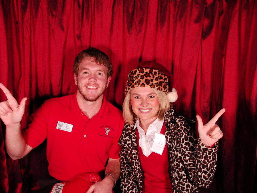 texas tech business college photobooth