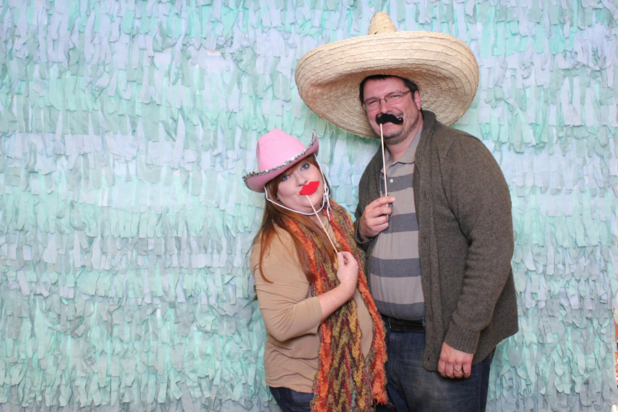country style photo booth