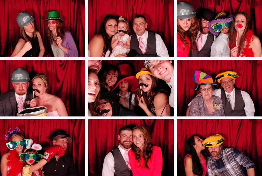 lubbock frazier alumni wedding photo booth