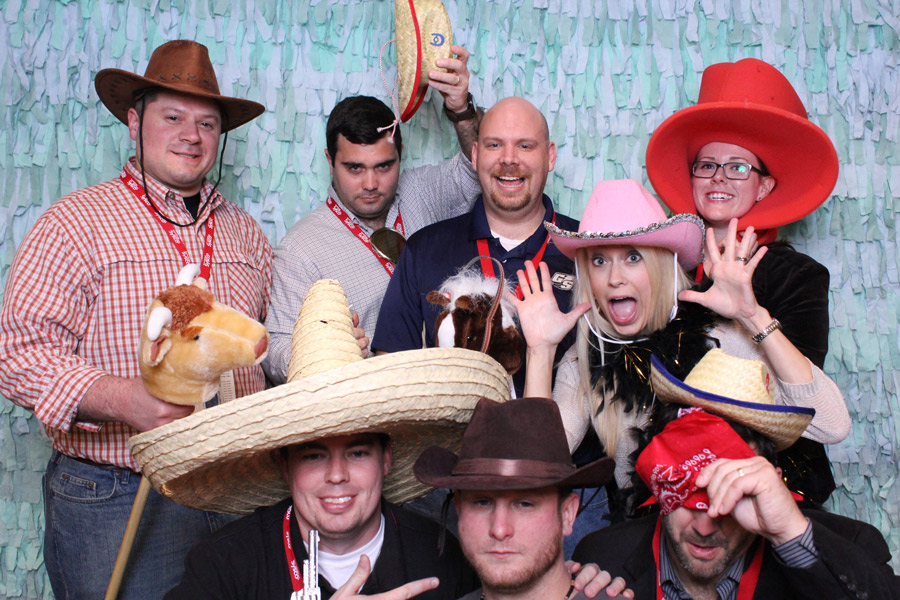 lubbock business event photobooth